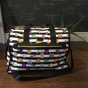 Large Betsey Johnson Emoji Holdall